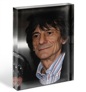 Ronnie Wood Acrylic Block - Canvas Art Rocks - 1