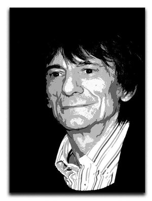 Ronnie Wood The Rolling Stones Pop Art Canvas Print or Poster  - Canvas Art Rocks - 1