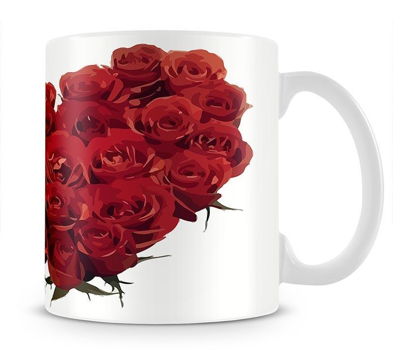 Rose Mug - Canvas Art Rocks - 1