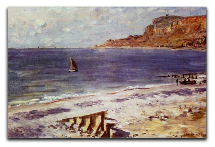 Sailing At Sainte Adresse by Monet Canvas Print or Poster