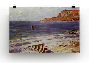 Sailing At Sainte Adresse by Monet Canvas Print & Poster - Canvas Art Rocks - 2