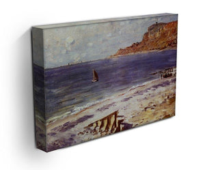 Sailing At Sainte Adresse by Monet Canvas Print & Poster - Canvas Art Rocks - 3