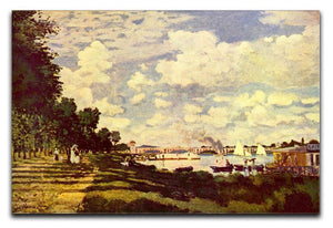 Sailing at Argenteuil by Monet Canvas Print & Poster  - Canvas Art Rocks - 1