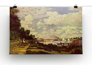 Sailing at Argenteuil by Monet Canvas Print & Poster - Canvas Art Rocks - 2