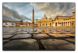 Saint Peter Basilica in the Morning Canvas Print or Poster  - Canvas Art Rocks - 1