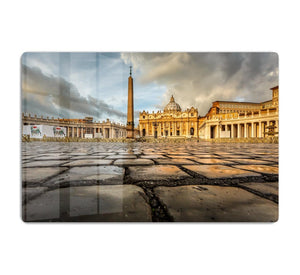 Saint Peter Basilica in the Morning HD Metal Print