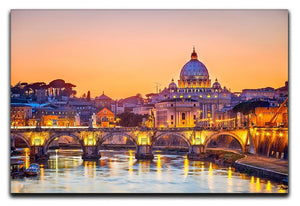 Saint Peter cathedral at night Canvas Print or Poster  - Canvas Art Rocks - 1