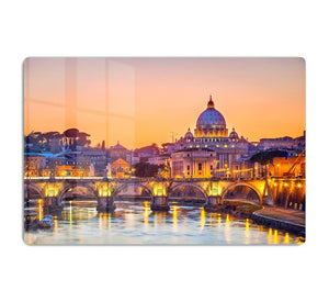 Saint Peter cathedral at night HD Metal Print