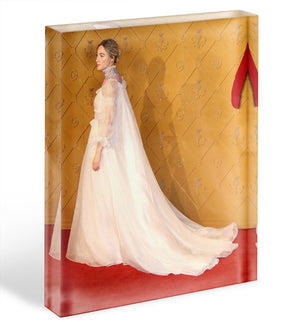 Saoirse Ronan Acrylic Block - Canvas Art Rocks - 1