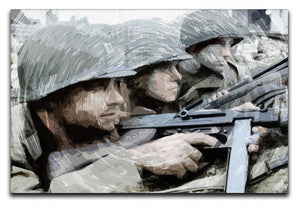 Saving Private Ryan Canvas Print or Poster  - Canvas Art Rocks - 1