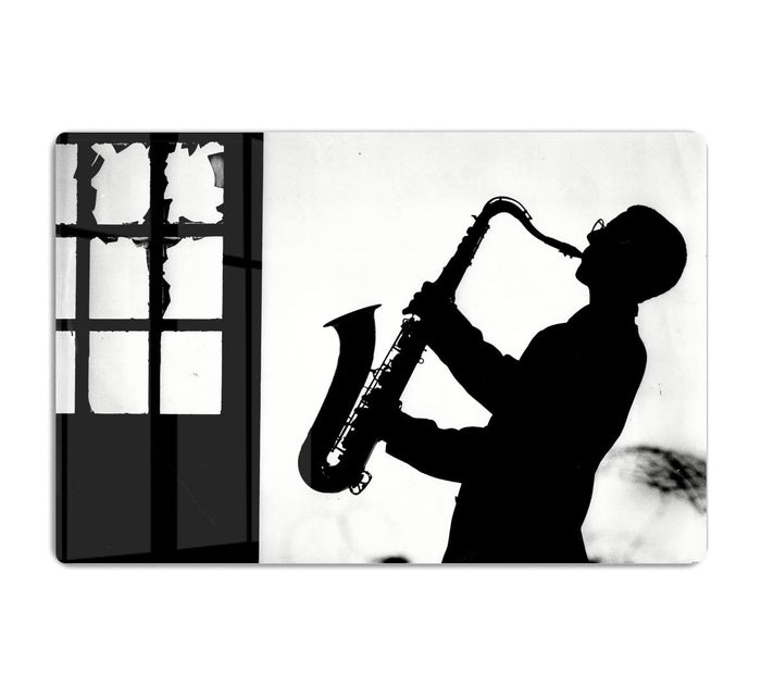 Saxophone player HD Metal Print