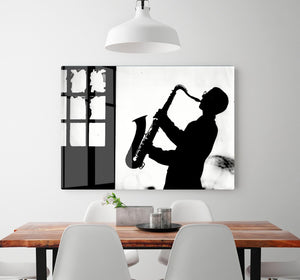 Saxophone player HD Metal Print - Canvas Art Rocks - 2