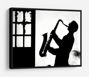 Saxophone player HD Metal Print - Canvas Art Rocks - 6