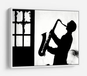 Saxophone player HD Metal Print - Canvas Art Rocks - 7