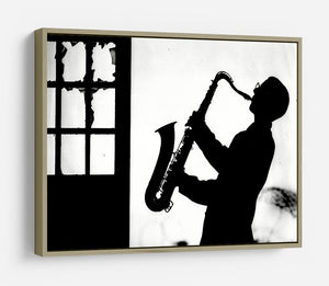 Saxophone player HD Metal Print - Canvas Art Rocks - 8