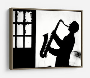 Saxophone player HD Metal Print - Canvas Art Rocks - 10