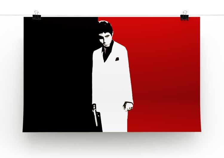 Scarface Movie Art Print - Canvas Art Rocks - 2