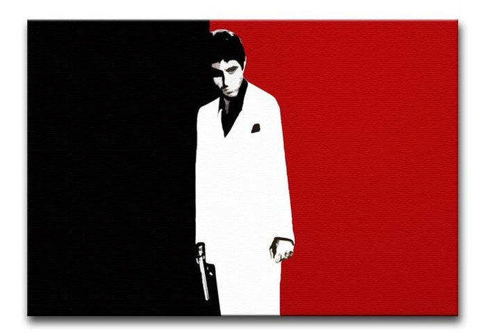 Scarface Movie Art Poster Canvas Print or Poster