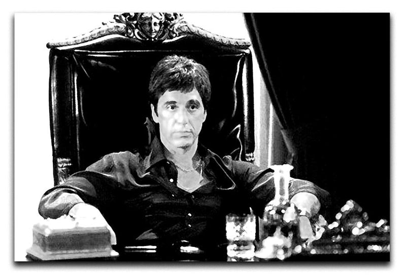 Scarface Print - Canvas Art Rocks - 1