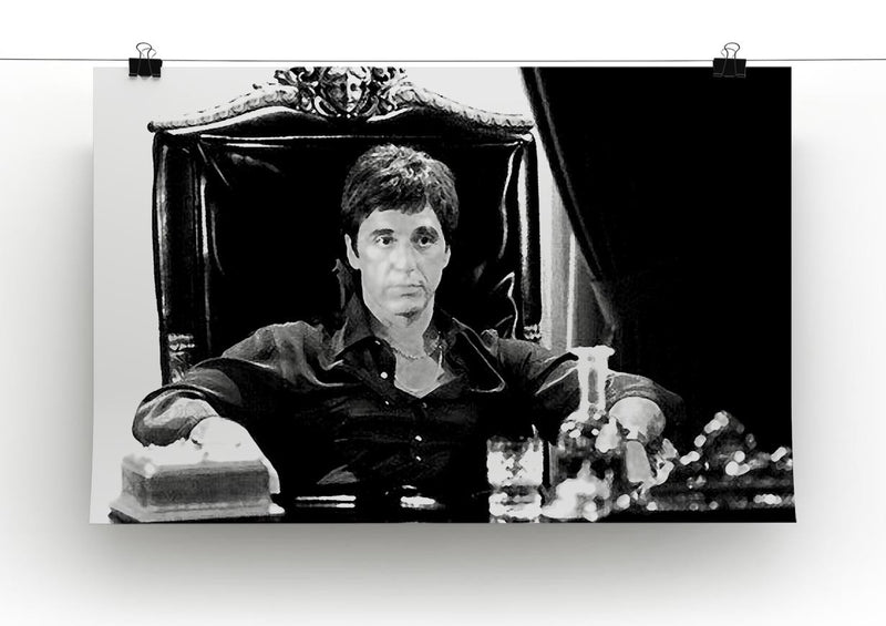 Scarface Print - Canvas Art Rocks - 2