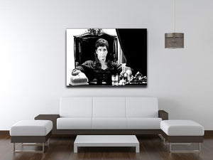 Scarface Print - Canvas Art Rocks - 4