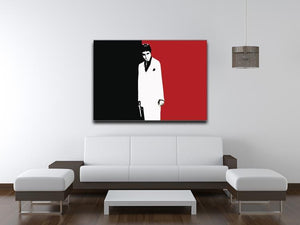 Scarface Movie Art Poster Canvas Print or Poster - Canvas Art Rocks