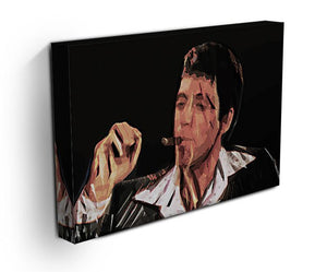 Scarface Smoking Cigar Canvas Print or Poster - Canvas Art Rocks