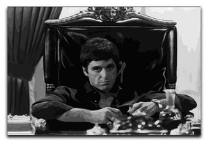 Scarface at his desk Canvas Print or Poster  - Canvas Art Rocks - 1