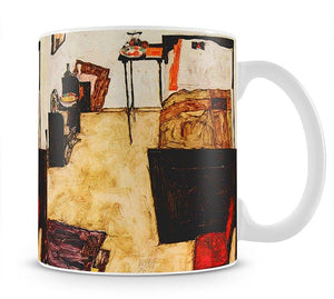 Schiele's living room in Neulengbach by Egon Schiele Mug - Canvas Art Rocks - 1