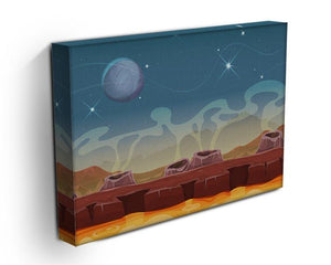 Sci-Fi Alien Planet Canvas Print or Poster - Canvas Art Rocks - 3