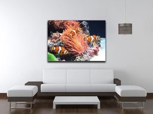 Sea anemone Canvas Print or Poster - Canvas Art Rocks - 4