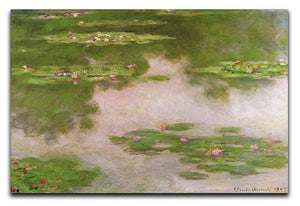 Sea roses 2 by Monet Canvas Print & Poster  - Canvas Art Rocks - 1