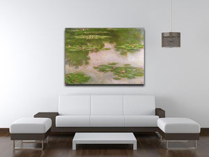 Sea roses 2 by Monet Canvas Print & Poster - Canvas Art Rocks - 4