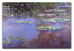 Sea roses 4 by Monet Canvas Print & Poster  - Canvas Art Rocks - 1