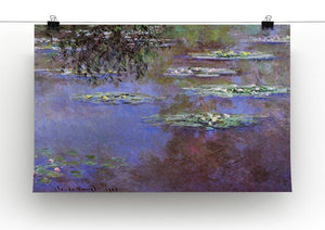 Sea roses 4 by Monet Canvas Print & Poster - Canvas Art Rocks - 2