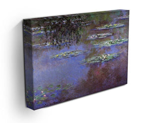 Sea roses 4 by Monet Canvas Print & Poster - Canvas Art Rocks - 3