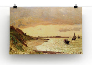 Seaside at Sainte Adresse by Monet Canvas Print & Poster - Canvas Art Rocks - 2