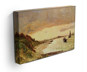 Seaside at Sainte Adresse by Monet Canvas Print & Poster - Canvas Art Rocks - 3