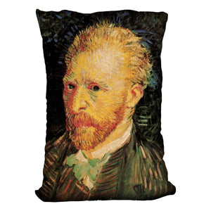 Self-Portrait 10 by Van Gogh Throw Pillow