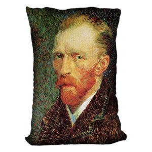 Self-Portrait 3 by Van Gogh Throw Pillow