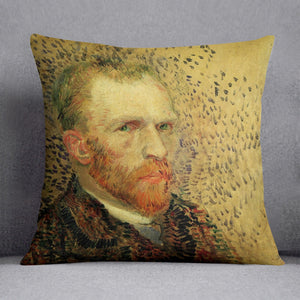 Self-Portrait 5 by Van Gogh Throw Pillow