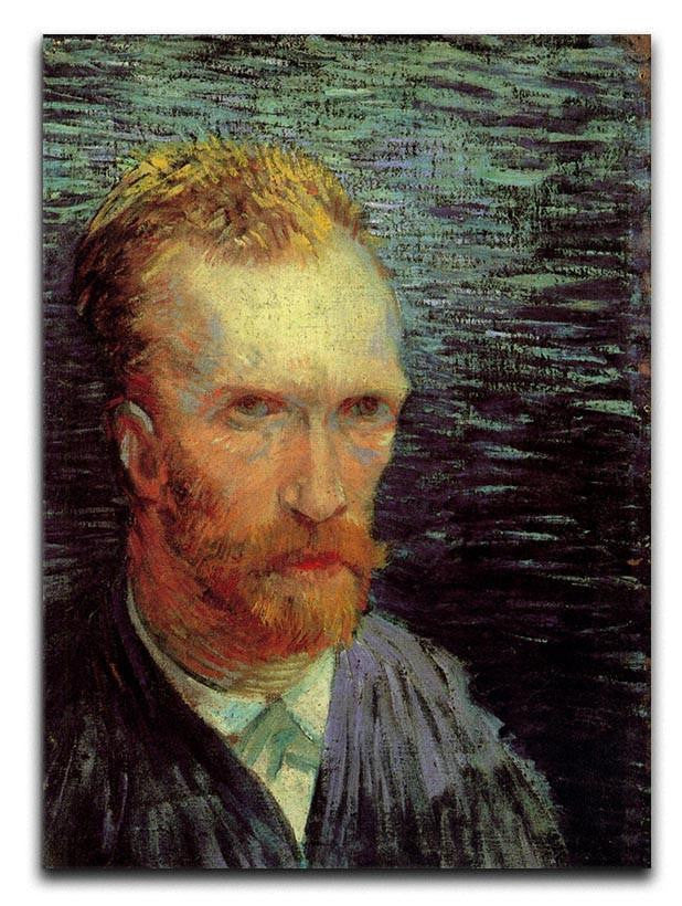 Self-Portrait 7 by Van Gogh Canvas Print or Poster