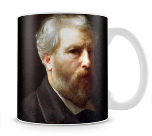 Self-Portrait Presented To M Sage By Bouguereau Mug - Canvas Art Rocks - 1