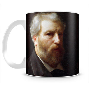 Self-Portrait Presented To M Sage By Bouguereau Mug - Canvas Art Rocks - 2