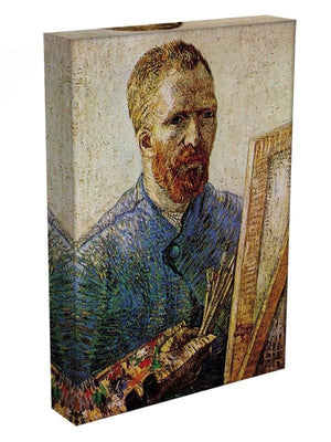 Self-Portrait in Front of the Easel by Van Gogh Canvas Print & Poster - Canvas Art Rocks - 3