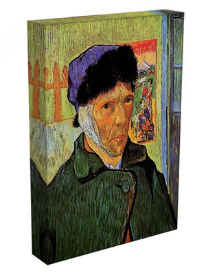 Self-Portrait with Bandaged Ear by Van Gogh Canvas Print & Poster - Canvas Art Rocks - 3