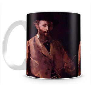 Self Portrait with Pallette by Manet Mug - Canvas Art Rocks - 2