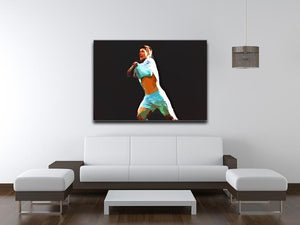 Sergio Aguero Canvas Print or Poster