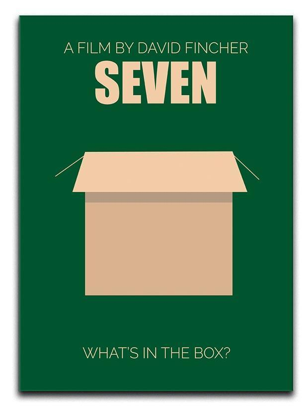 Seven Minimal Movie Canvas Print or Poster