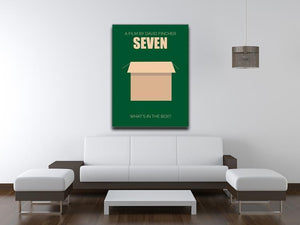 Seven Minimal Movie Canvas Print or Poster - Canvas Art Rocks - 4